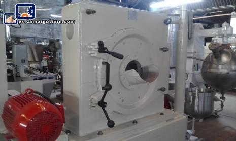 Molino pulverizador con disco para azucar acero inoxidable Netzsch