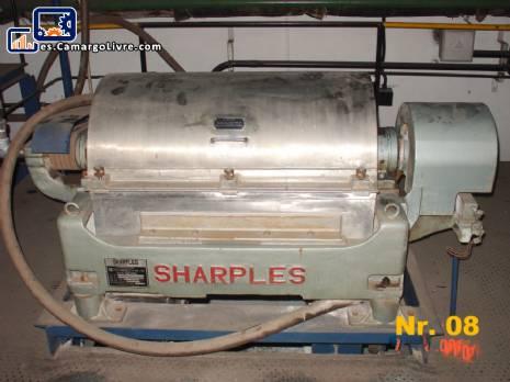 Centrifugadora de la jarra en acero inoxidable 316 L, Sharples