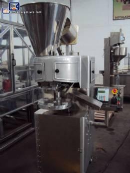 Llenado / semiautomáticas tubos de metal Fechadora - N