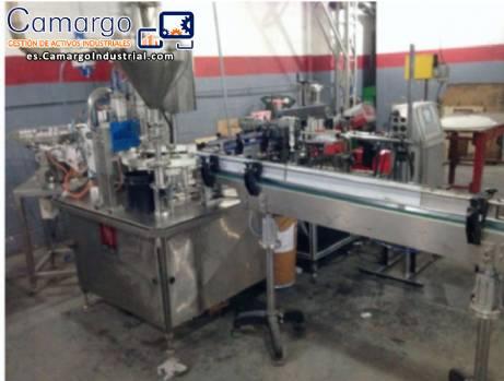 Línea para la fabricación de pegamento y el relleno de 40 g / 90 g / 500 g / 1000 g
