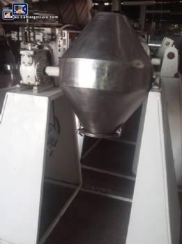 Mezclador de cono doble industrial 50 litros