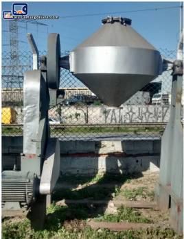 Mezclador de doble cono industrial