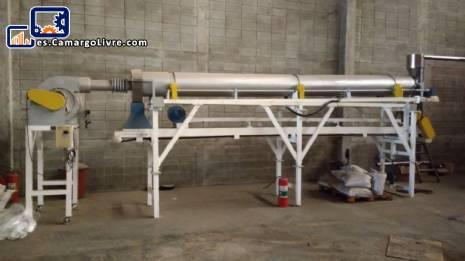 Línea para extrusión de alimentos para animales 120 kg / h Inbramaq