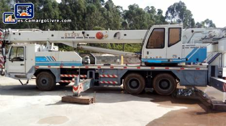 Grúa para 25 toneladas Zoom Lion