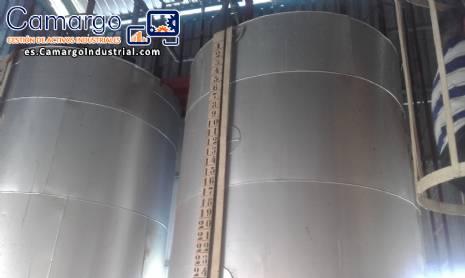 Tanques tanque para grasa por 10 toneladas