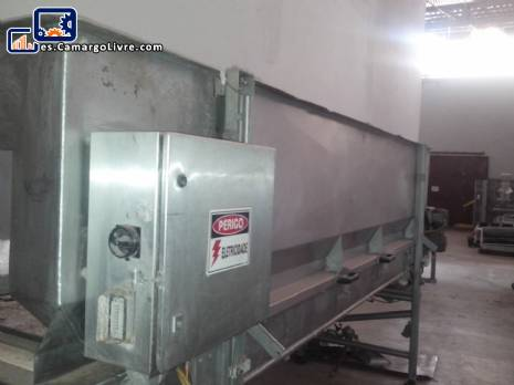 Tanque de almacenamiento con la estera del acero inoxidable