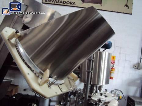 Automático y alimentador rotatorio cubre posicionador - N
