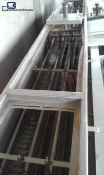 Estera del acero inoxidable lavadora industrial