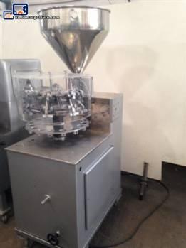 Llenado semiautomático de tubos de metal-N