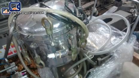 Capacidad del reactor de acero inoxidable de 50 litros
