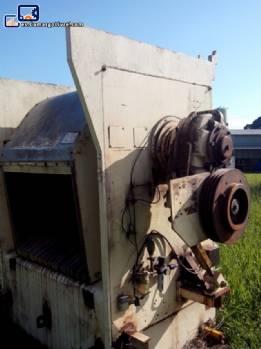 Mezclador mezclador industrial en acero inoxidable