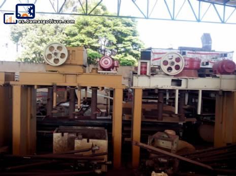 3 mezcladores industriales de 3 ejes con motor de 30 HP y reductor de masa para galletas