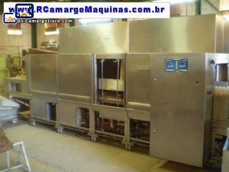 Máquina lavadora de bandejas Hobart