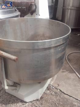 Soporte de la olla con capacidad de 300 litros masa Dumper