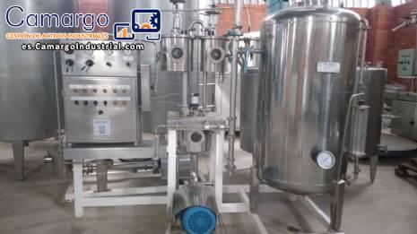 Mezclador de carbono en líquidos Unimix Zegla