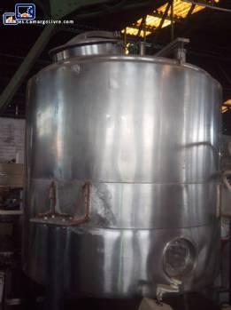 Camisa de acero inoxidable 1000 litros tanque