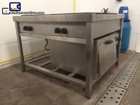 Estufa de gas modular 1000 industrial Cozil
