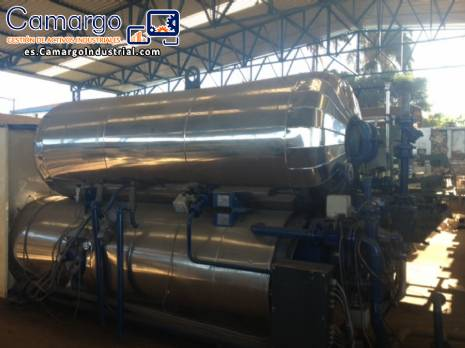 Autoclave industrial fabricante stock Rotomat
