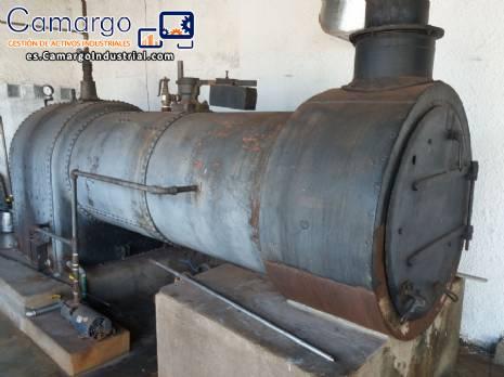 Caldera para la producción de vapor 500 kgv / h Lidgerwood