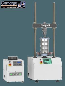 Máquina de prueba de suelo triaxial estático Biopdi