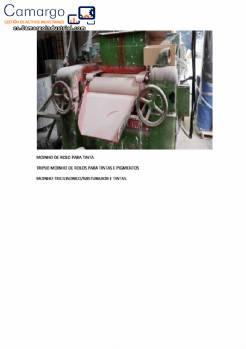 Molino mezclador de tres cilindros