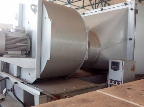 Túnel de enfriamiento industrial Bosch