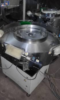Alimentador rotativo de balas y goma de mascar tipo máquinas Flow Pack